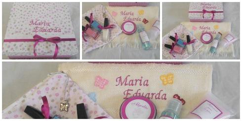Kit manicure pink